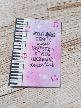 Dance ATC Ginger Ninja Crafts