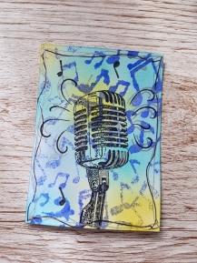 Microphone ATC Ginger Ninja Crafts